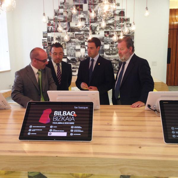 inaugurada la oficina de turismo bilbao bizkaiabilbaoclick