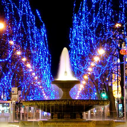 Resultado de imagen de gran vía luces de navidadbilbao