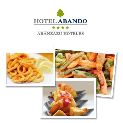 hotel abando raciones menús