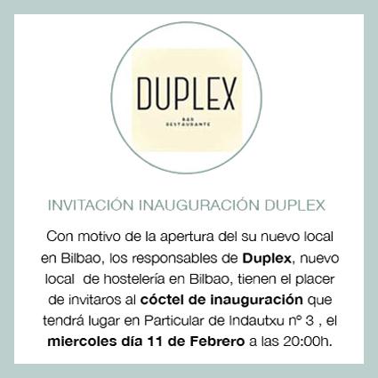 duplex-bilbao-invitacion-evento-coctel-inauguracion