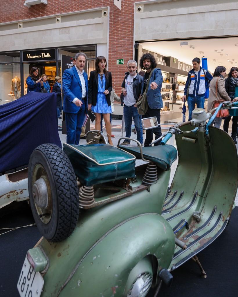 Exposición _Vespa_Lambretta_Zubiarte