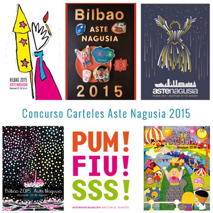 concurso carteles aste nagusia 2015