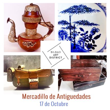 Mercadillo de Antiguedades Bilbao Art District
