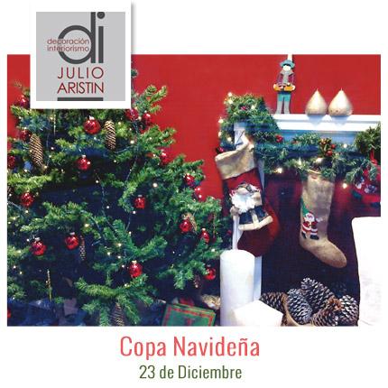 Copa Navideña Decoración-Julio Aristín Interiorismo Bilbao