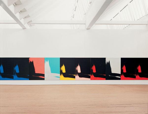 Warhol Shadows  museo guggenheim bilbao