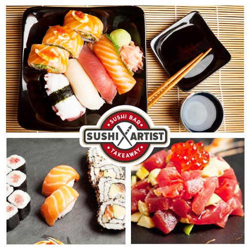Sushi a Domicilio Sushi Artist bilbao
