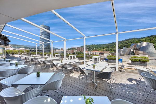 terraza domine bilbao