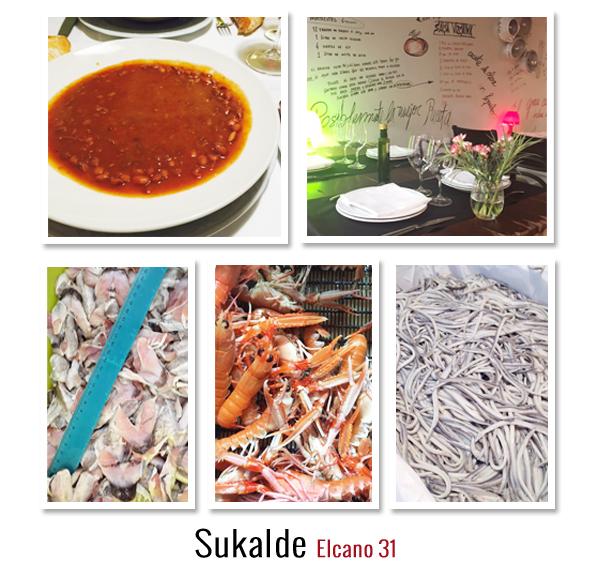 Gente de Bilbao Sukalde Restaurantes Gastronomía
