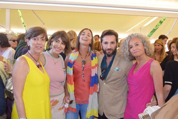 Yolanda Mantrana, Irama Pradera, Amaia Eguskizaga, Jorge Canivell y Elena Aurrekoetxea Mariscal