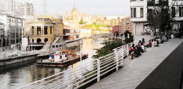 soho de Bilbao Muelle Marzana bares restaurantes