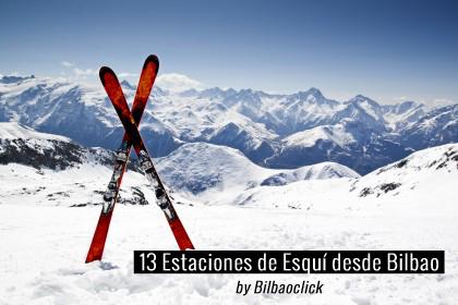 estaciones de esqui bilbao