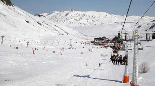 san isidro estacion esqui