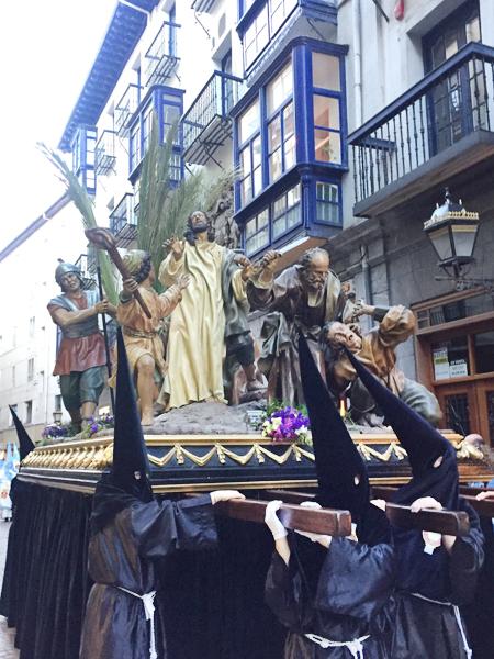 semana santa bilbao procesiones