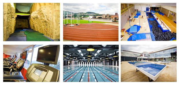 Polideportivos Bilbao deporte gimnasios piscinas
