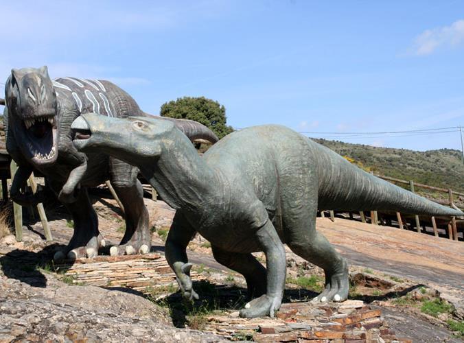 ruta de los dinosaurios planes escapa