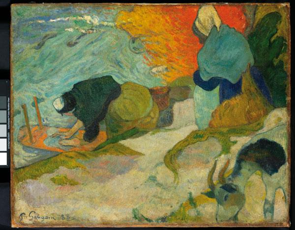Lavanderas_Gauguin