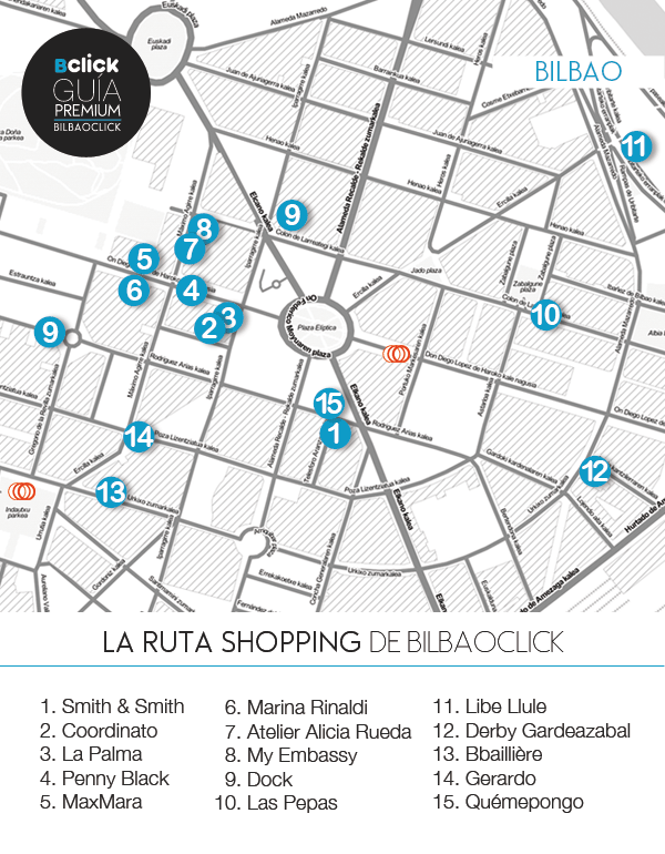 ShoppingBilbao-mapa