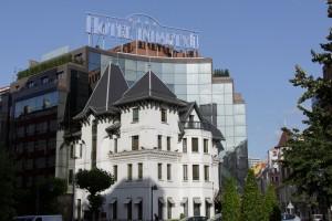fachada hotel silken indautxu