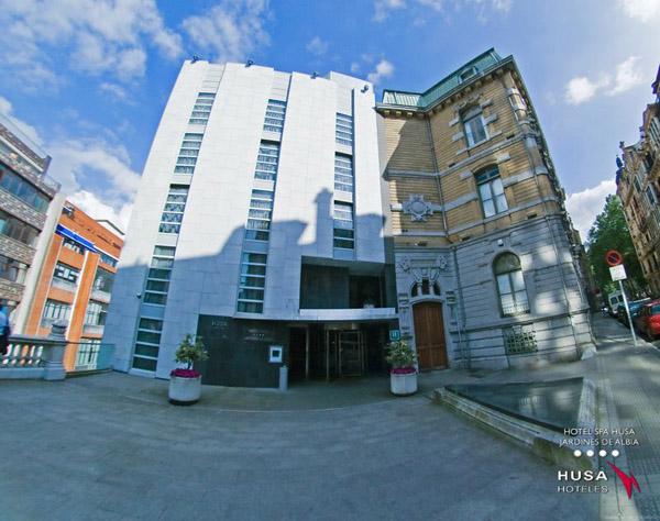 HUSA-hotel-jardines de albia