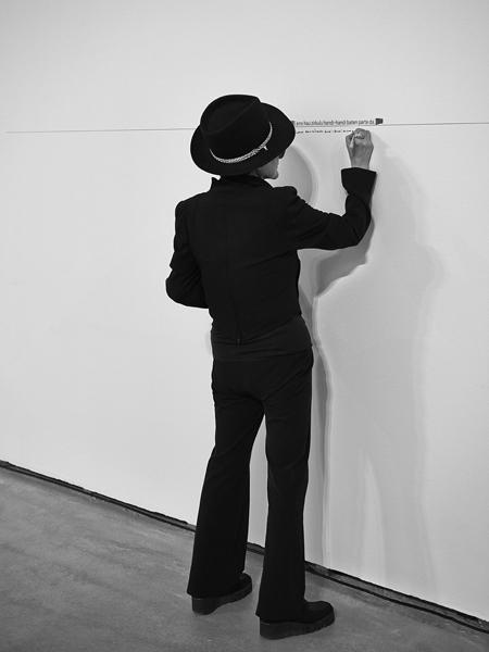 Yoko Ono performance
