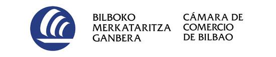 Logotipo camara de comercio bilbao