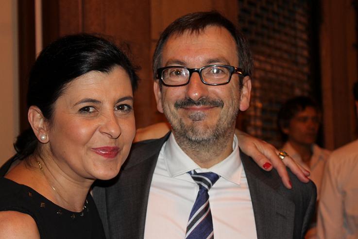 Jose Ram+¦n Rivero y Elena badiola