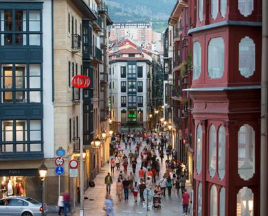 Casco viejo de bilbaobilbaoclick - Pamplona centro historico ...