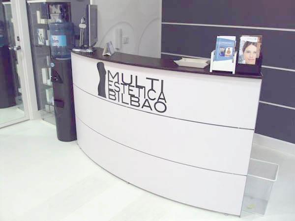 Recepción Multiestética Bilbao Centro Belleza