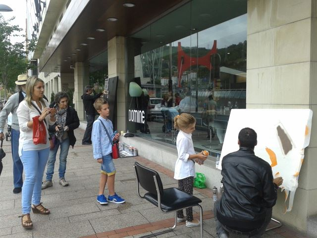 live-painting-hotel-domine-bilbao-guia-bilbao