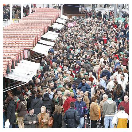 Mercado de Santo Tomás llega a Bilbao