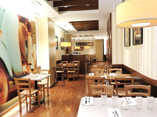 Ginos es un estupendo Restaurante Italiano en Bilbao.