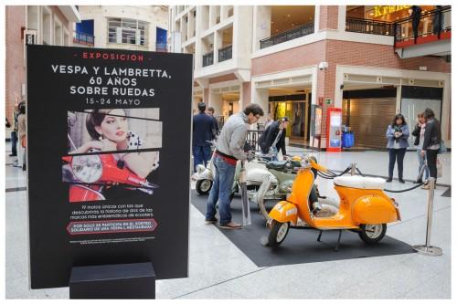 Exposición Vespa Lambretta Zubiarte