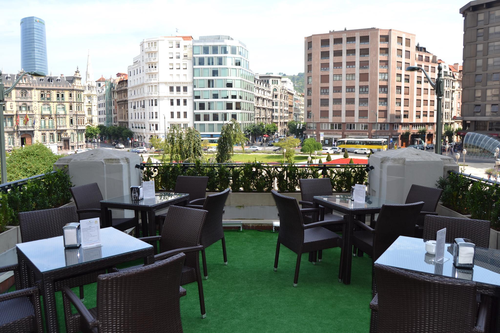 Las 6 terrazas con mejores vistas de bilbaobilbaoclick for Pisos con terraza en bilbao