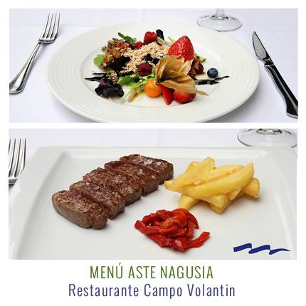 aste nagusia menu restaurante campovolantin