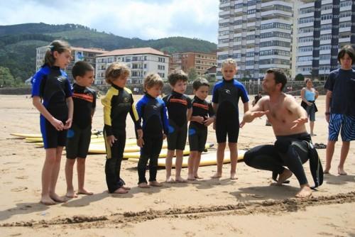 cursos surf bario txikis