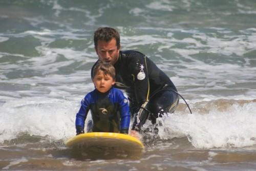 rip curl surf bakio eskola