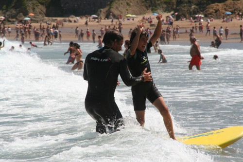 surf bakio rip curl eskola
