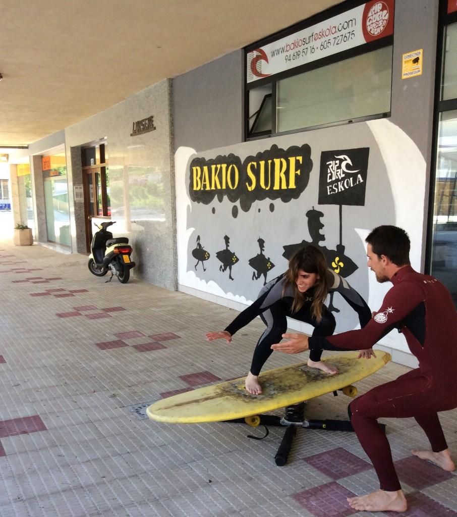surf eskola rip curl bakio