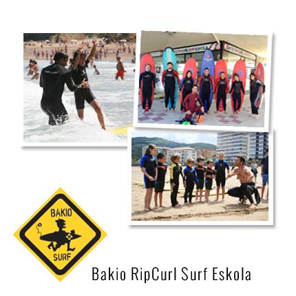 Aprende a hacer surf bakio rip curl surf