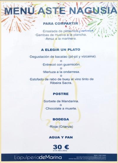 pulpería marina en bilbao restaurante gallego