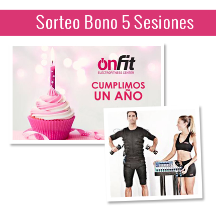Aniversario Sorteo Onfit Center Bilbao Ofertas
