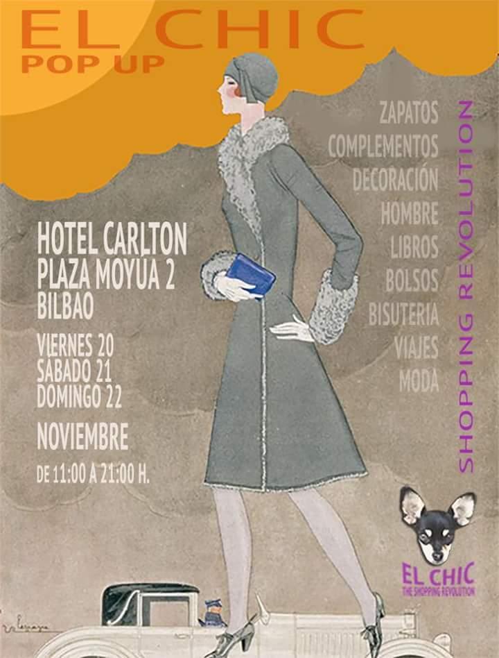 Chic Pop Up Mercadillo Bilbao Hotel Carlton