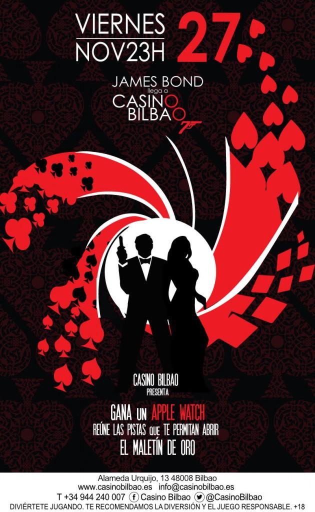 Gran Casino Bilbao James Bond Sorteo