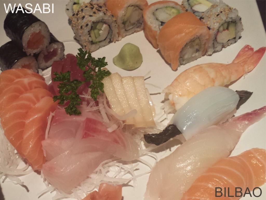sushi bilbao wasabi restaurantes