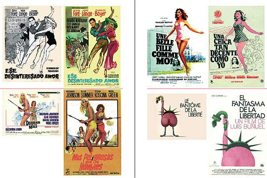 'Carteles de cine_censura_Homenaje_Jano_exposición_bilbao