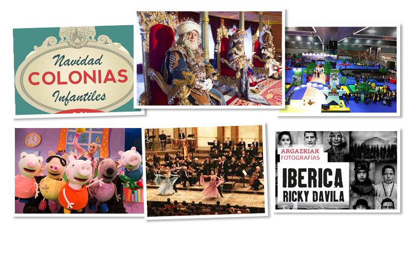 Planes de Navidad Bilbao Bilbaoclick agenda programación.