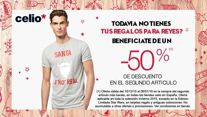 Rebajas de Navidad Celio Moda Bilbao