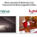 Restaurantes Museo Guggenheim Bistró-Nerua-Menú Nochevieja Navidad Bilbao