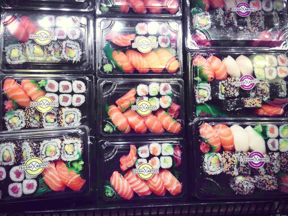 sushi artist carta bilbao