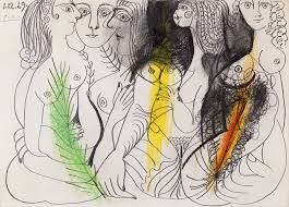 once-dibujos-picasso